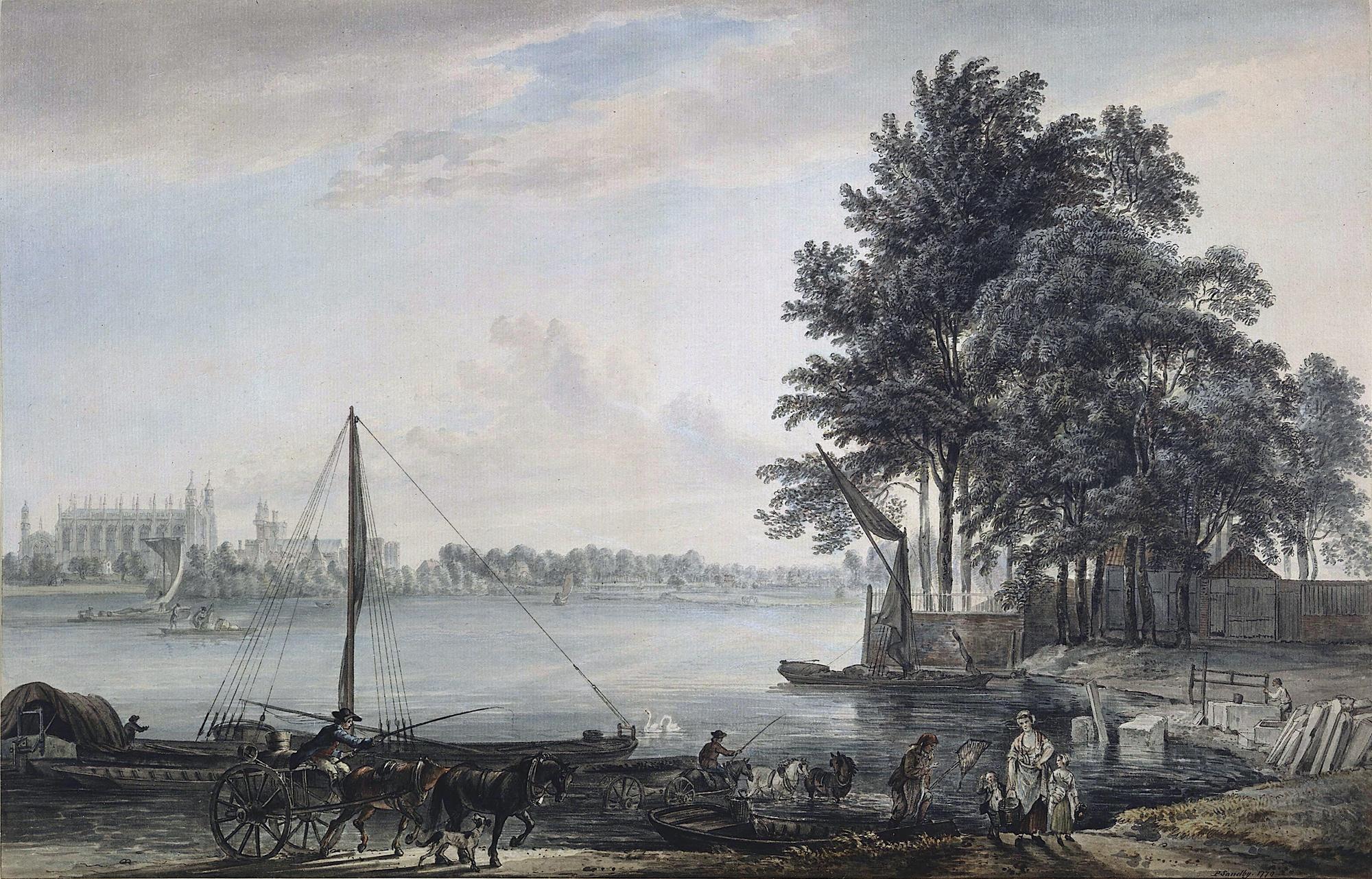 The thames river essay