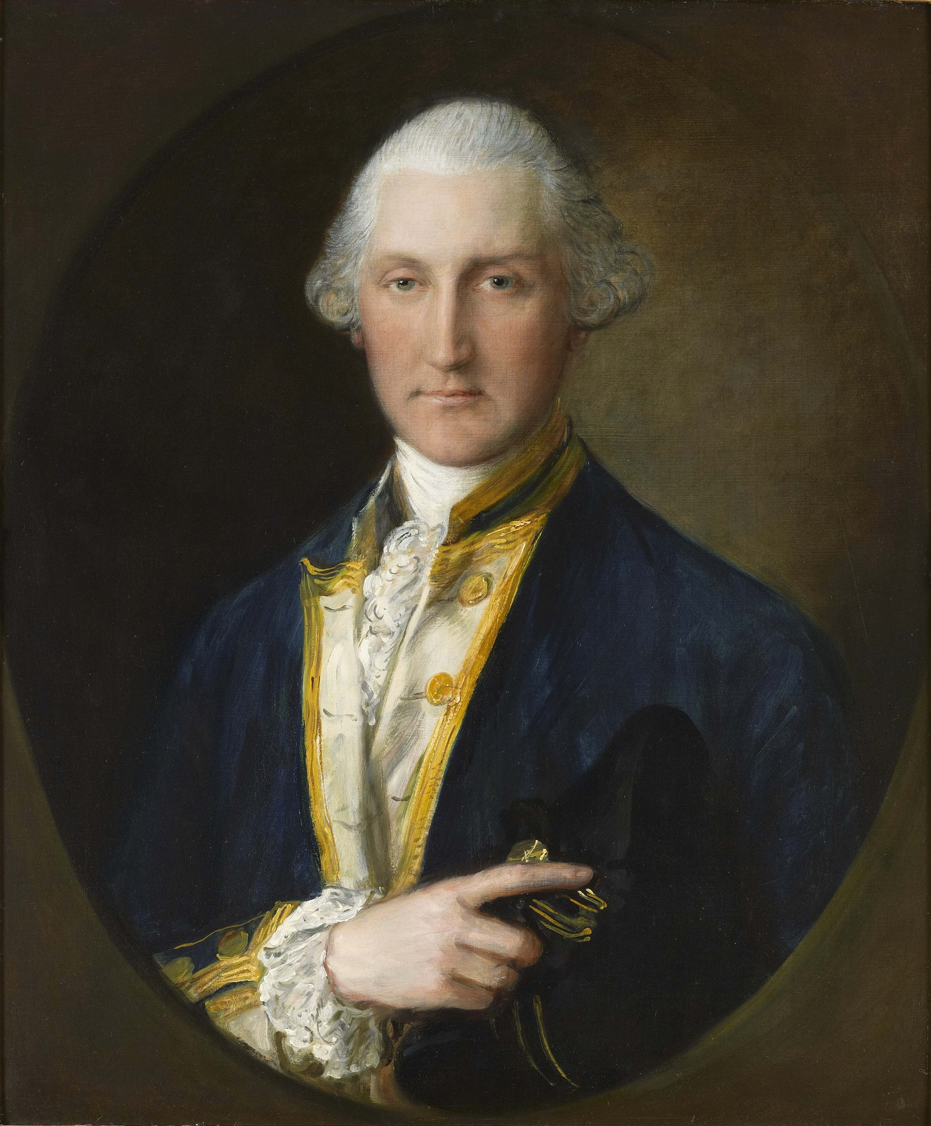 Portrait of Lord William Campbell, M.P., Last British Governor of South Carolina